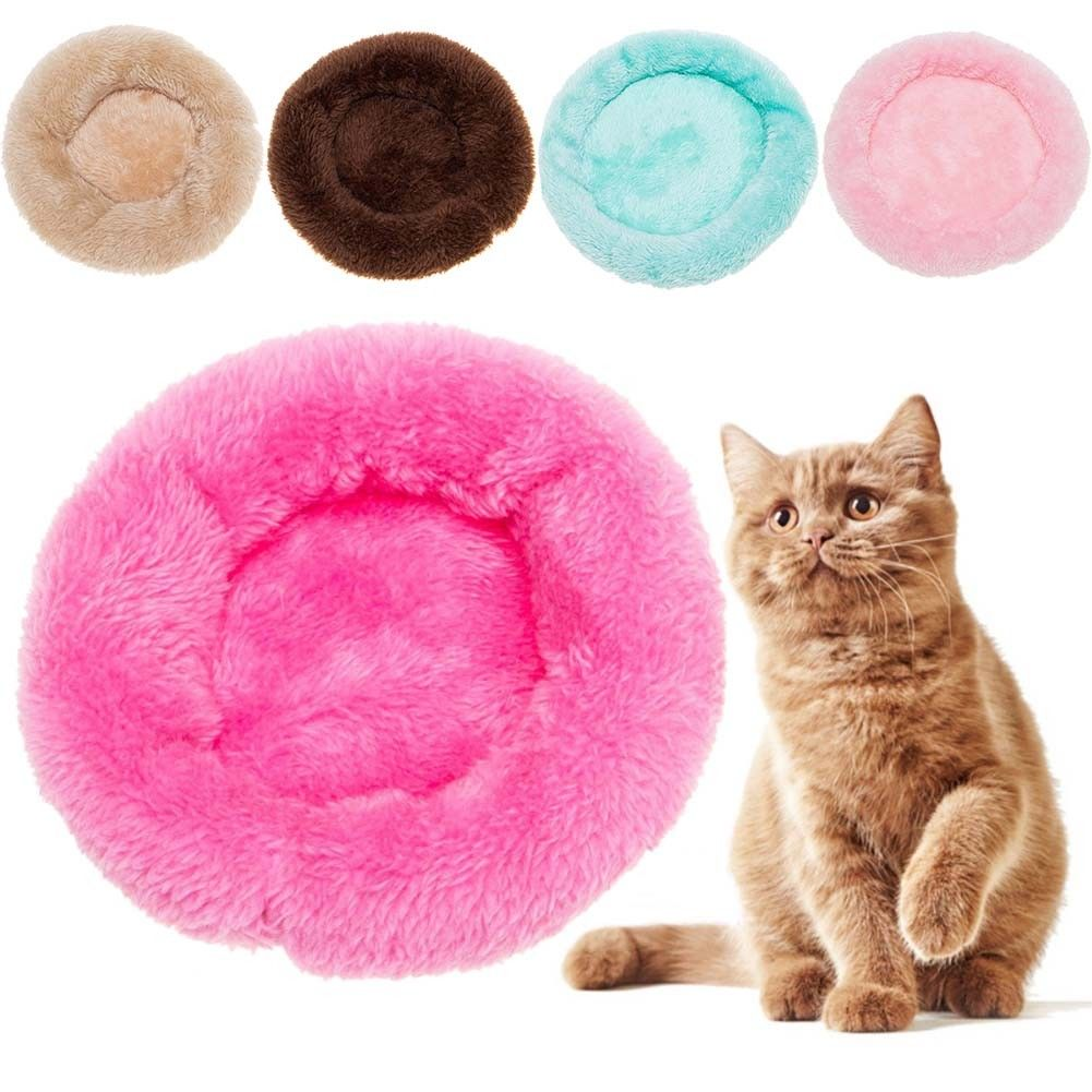 US-Dog-Cat-Bed-Mat-Cushion-House-Soft-Warm-Kennel-Pets-Pad-Blanket-Washable