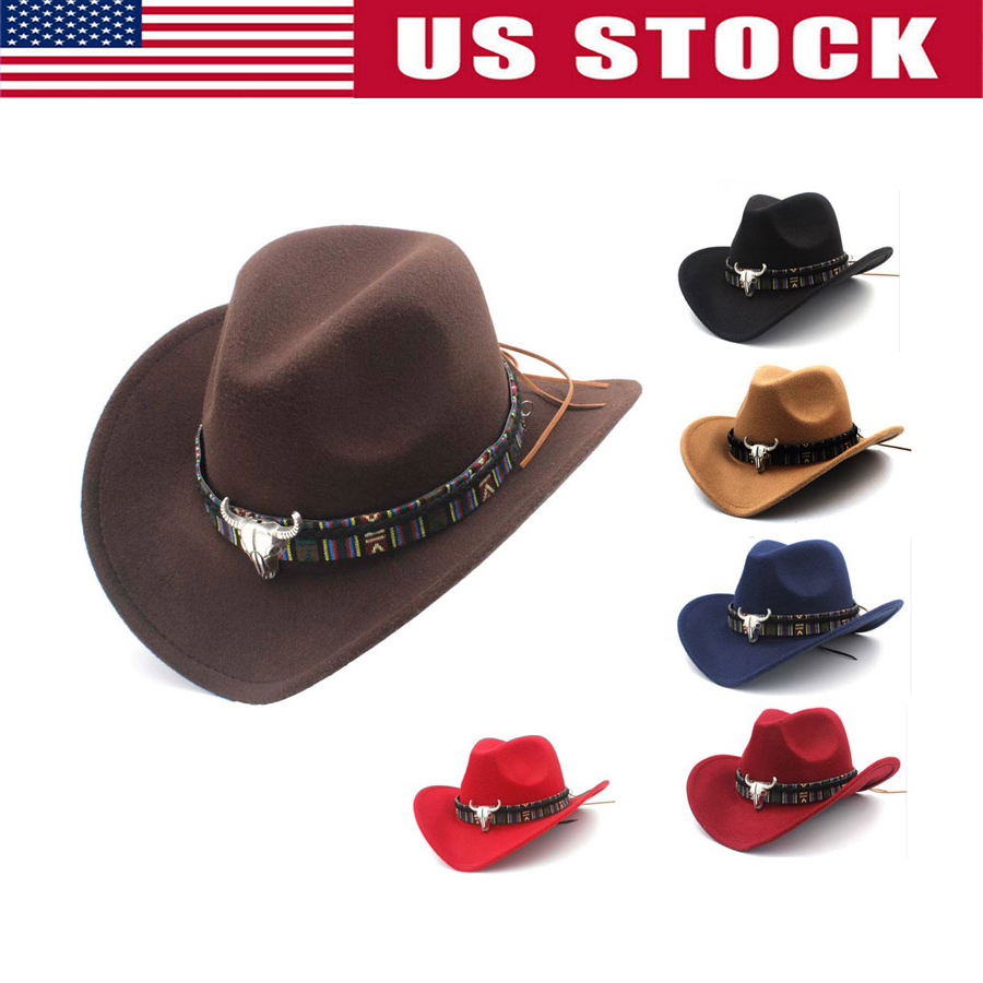CHECKERED STYLE COWBOY WESTERN HAT brand new cowgirl headwear mens womens hats
