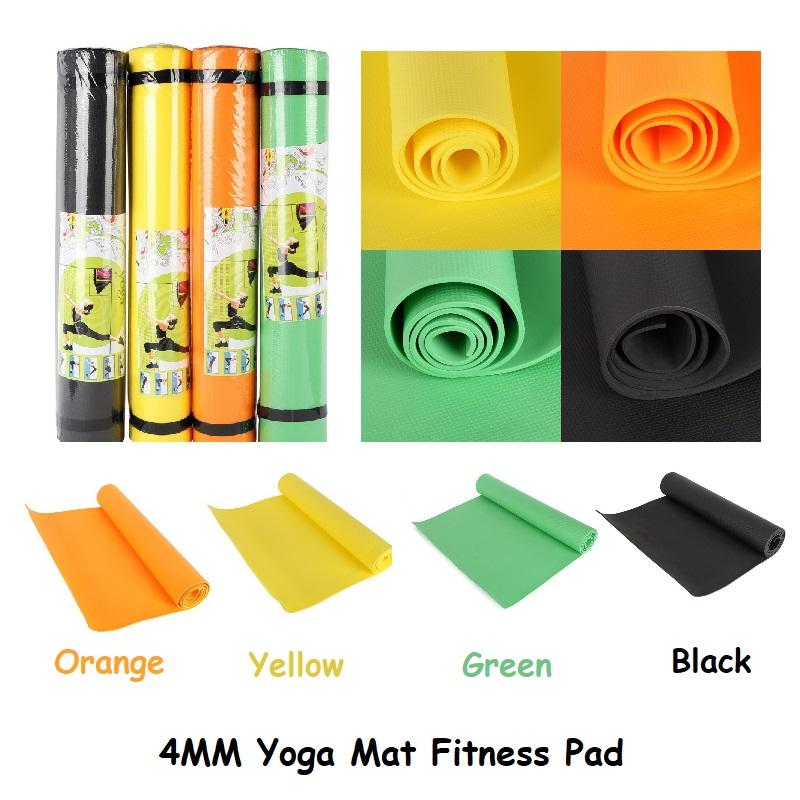 4MM EVA Dampproof Yoga Mat Anti-slip Foldable Anti-Tear Gym