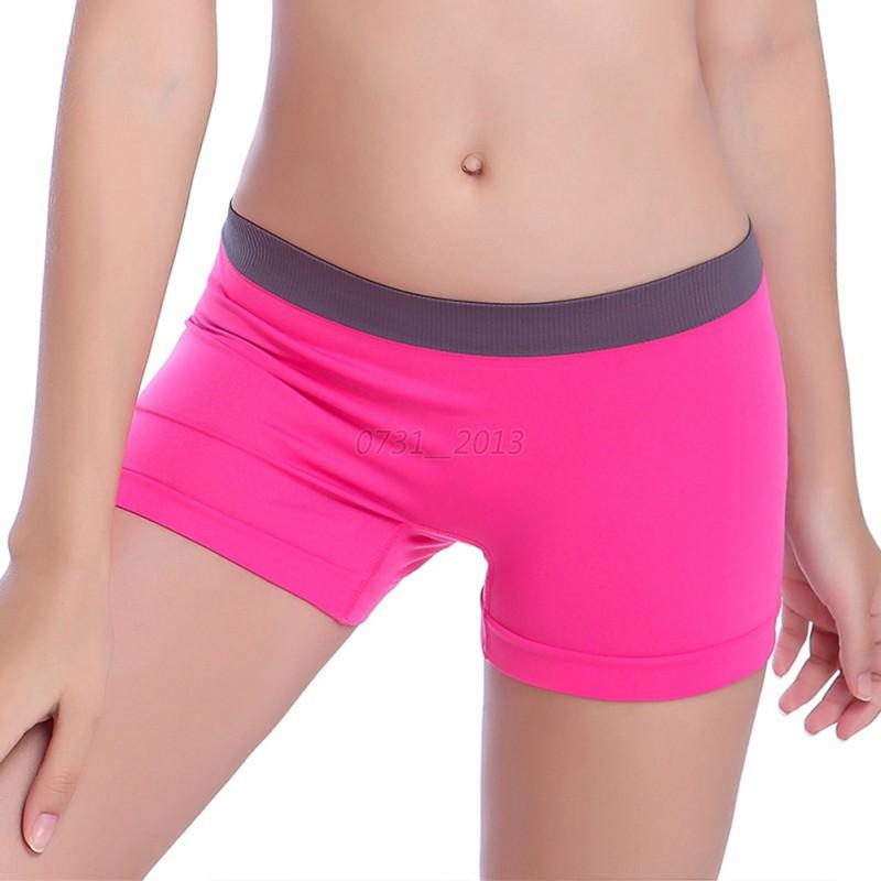 Women Seamless Solid Spandex Yoga Workout Base Layer