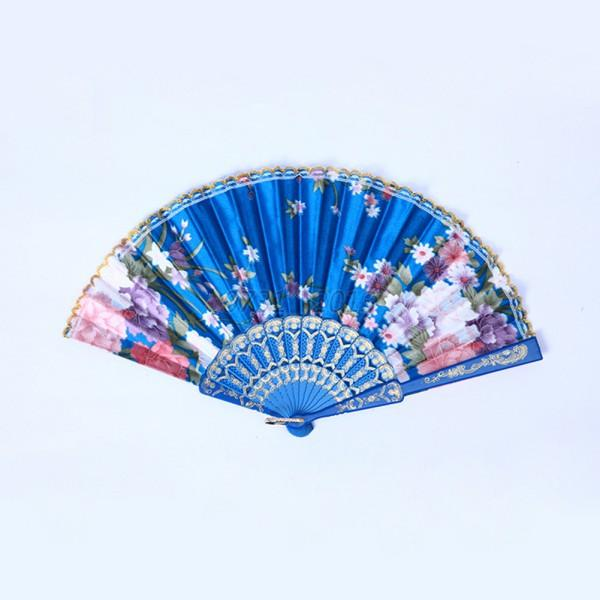 Classic-Chinese-Folding-Hand-Fan-Floral-Wedding-Dance-Party-Favor-Pocket-Fan-New