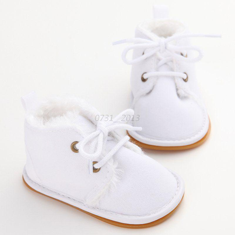 Newborn Baby Infant Toddler Boy Girl Snow Boots Crib Shoes ...