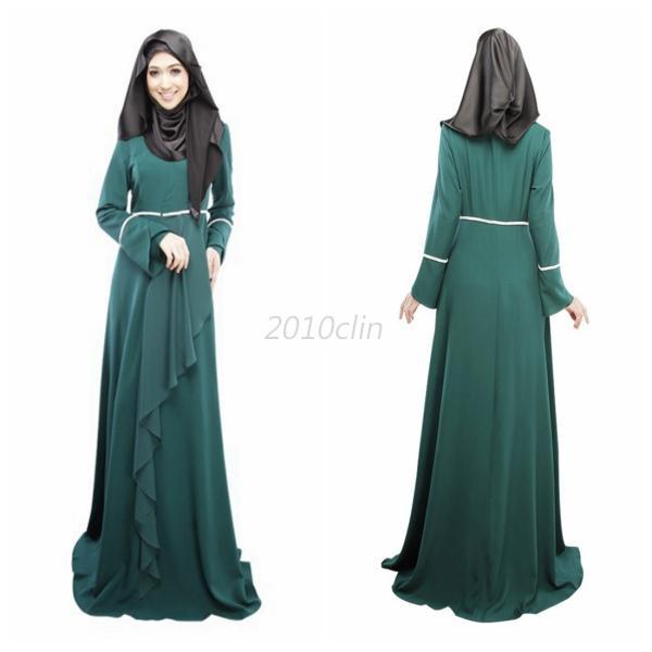Full Length Long Sleeve Dresses