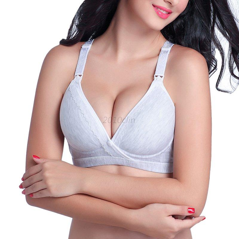 Women-Nursing-Front-Open-Bra-Maternity-Breastfeeding-Bra-Underwire-Push-up-Bra
