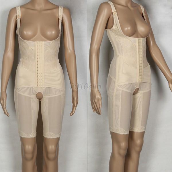 Lady-Full-Body-Shaper-Bodysuit-Shapewear-Thigh-Bum-Lift-Firm-Slim-Control-Shaper
