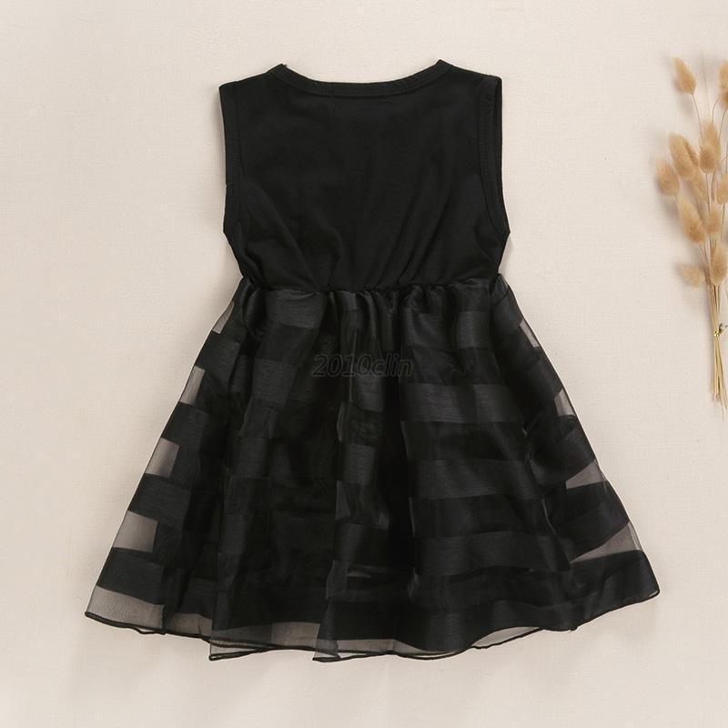Kids-Girls-Christening-Dress-Princess-Skirt-Pageant-Wedding-Party-Tulle-Dresses