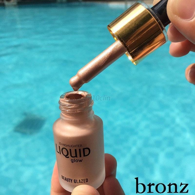 3-Colors-Liquid-Highlighter-MakeUp-Shimmer-Cream-Face-Contour-Brightener-Bronzer