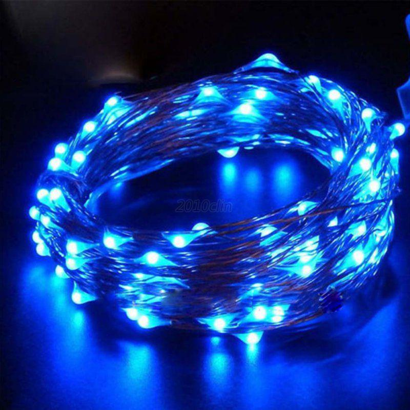 Led String Lights Warm White Outdoor : Holidays Wedding Party Decor Outdoor Fairy LED String Light Lamp Warm White eBay