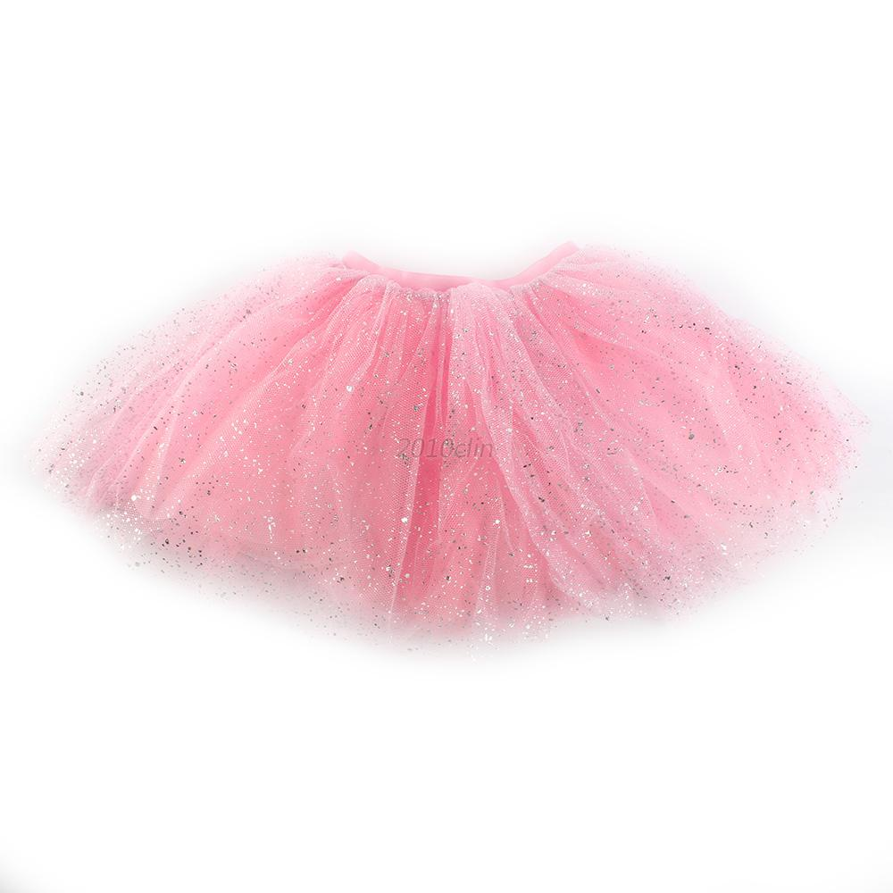 Toddler-Kids-Girl-Princess-Short-Tutu-Skirt-Tulle-Party-Ballet-Dance-Dress-2-7Y