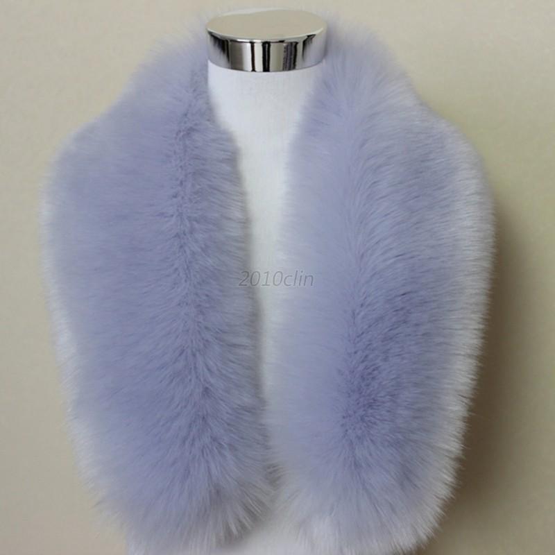 Women-Ladies-Winter-Faux-Fur-Fake-Collar-Shawl-Scarves-Scarf-Bib-Cloak-Coat-Hot