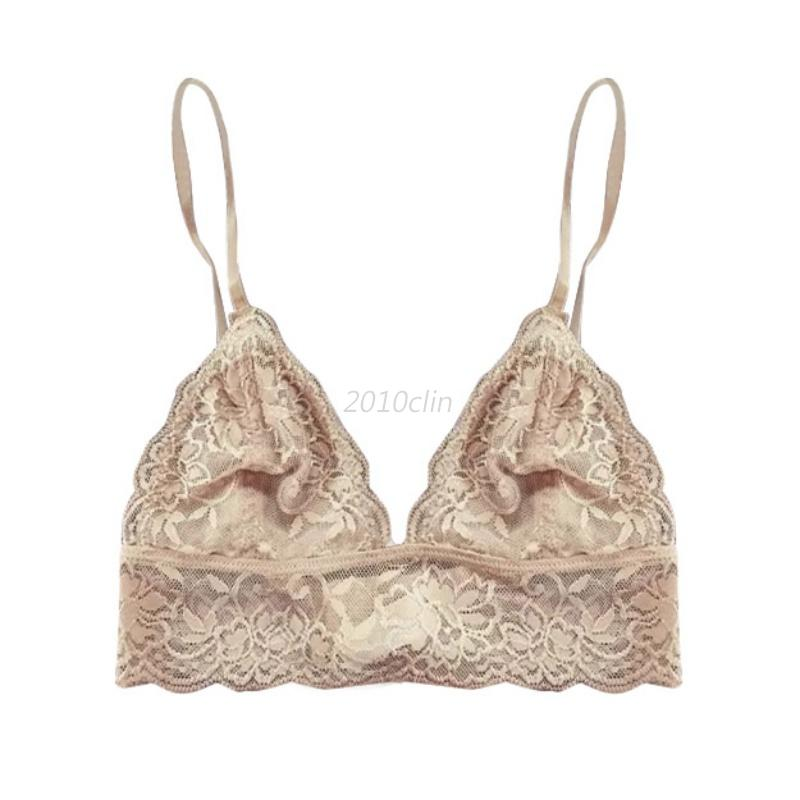 Women-Floral-Triangle-Bralette-Bralet-Bustier-Crop-Top-Unpadded-Bra-Underwear