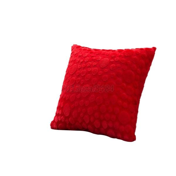 Decorative Pillow Covers Washable : Multi-color Home Decor Plush Square Pillow Case Washable Holder Cushion Cover