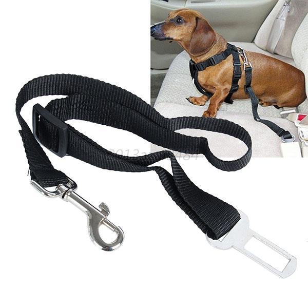 5color Dog Pet Car Safety Seat Belt Harness Restraint Lead