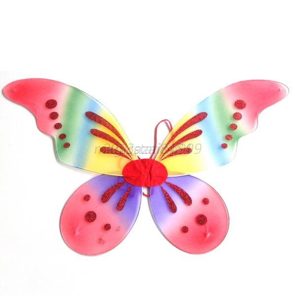 Cute-Princess-Girl-Butterfly-Wings-Party-Costume-Angel-Fairy-Wings-13-Colors-O82