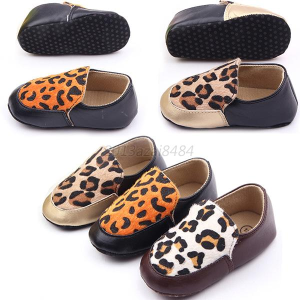 Trendy Infant Baby Loafers Crib Shoes Toddler Girl Boy