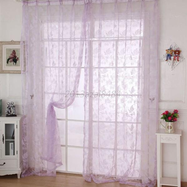 Colorful Room Door Divider Panel Drapes Valance Assorted Sheer ...