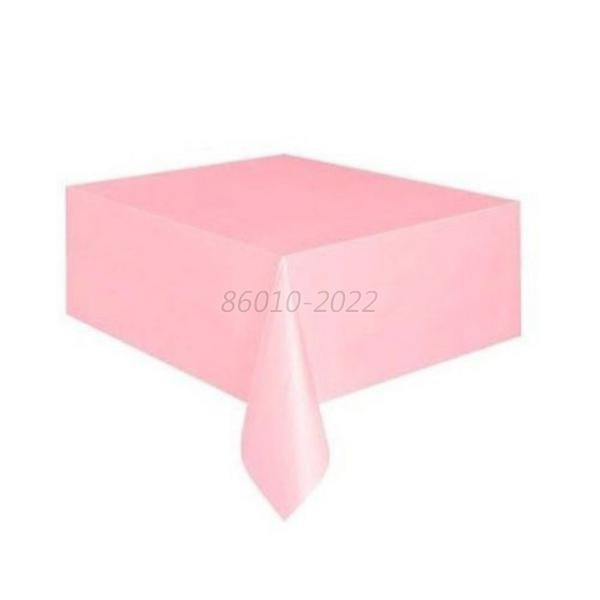 Covers Plastic Table Cloths Wedding Baby Shower Party