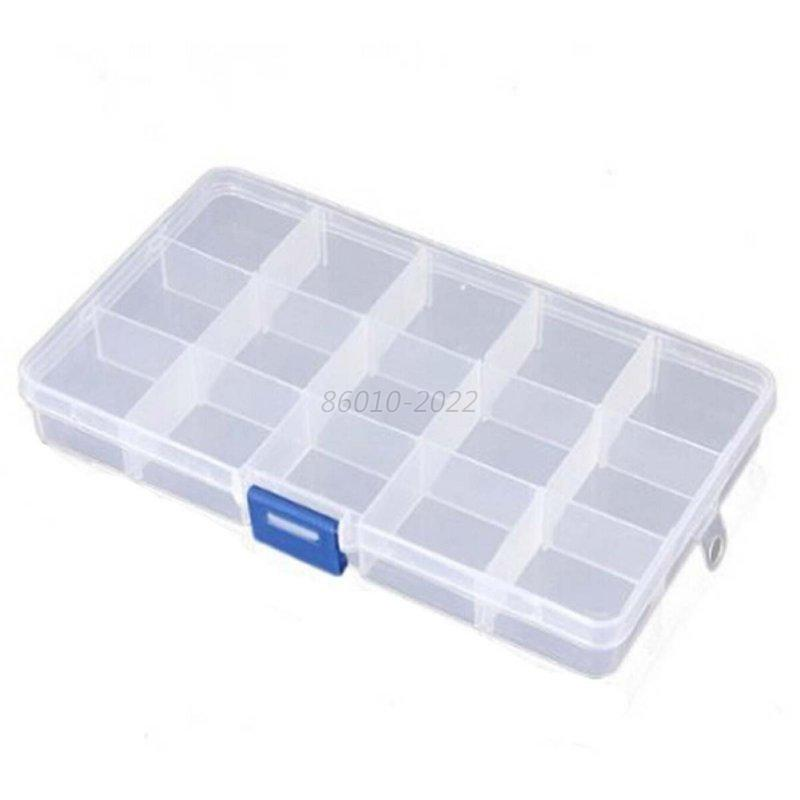 Jewelry Ring Earring Display Organizer Box Tray Holder Medicated Storage Case