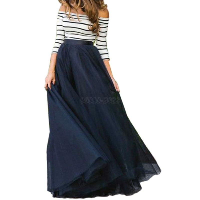 Summer Women Girls OL Striped Crop Top High Waist Skirt ...