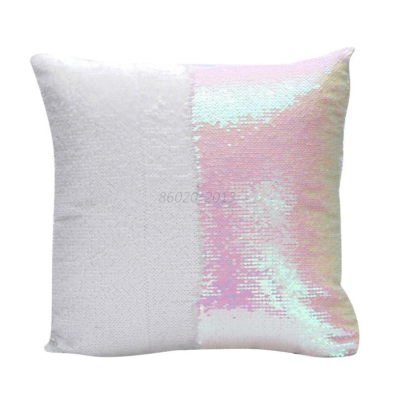 DIY Glitter Sequins Throw Pillows Cases Home Sofa Car Decorative Cushion Covers eBay