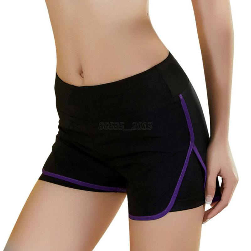 Womens Casual Sports Shorts Fitness Running Cycling Gym