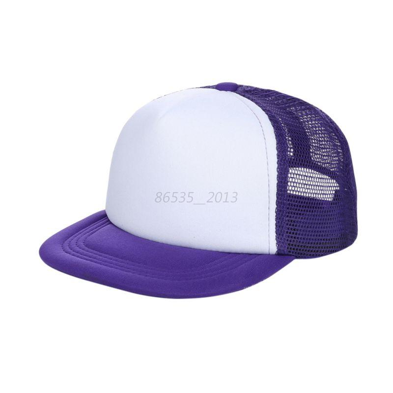 boys casual adjustable baseball hat baby plain