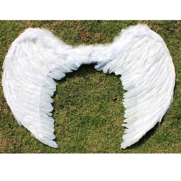 Angel-Wings-Fancy-Dress-up-Fairy-Feather-Costume-Outfit-Large-Adult-Party-Hen