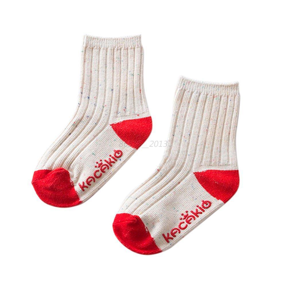 Toddler Kids Baby Soft Boys Girl Foot Socks Anti-Slip ...