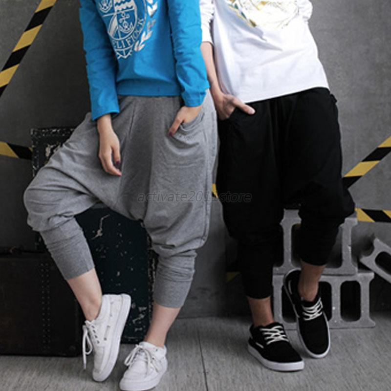 Awesome New Fashion Brand Harem Hip Hop Dance Pants Sweatpants Costumes Female Stage Performance Wear ...