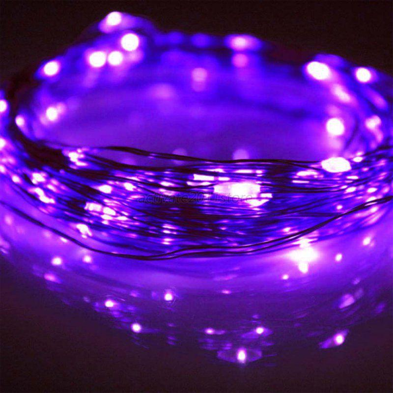 Mini String Lights On Wire : 3m 30 Leds 4M 40 LEDs Battery Operated Mini LED Copper Wire String Fairy Lights eBay