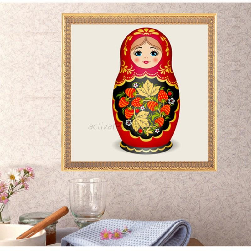 D diy magic cube round diamond full embroidery painting