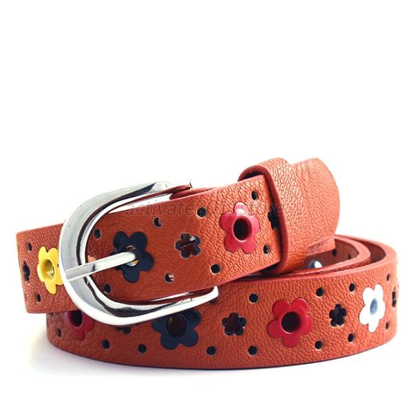 Fashion Sweet Cute Floral Belt Waistband Best Choice for Kids boys girls. but also for the young lady wearing our belts work well. there is a professional lace hollow handle technology, when used with.