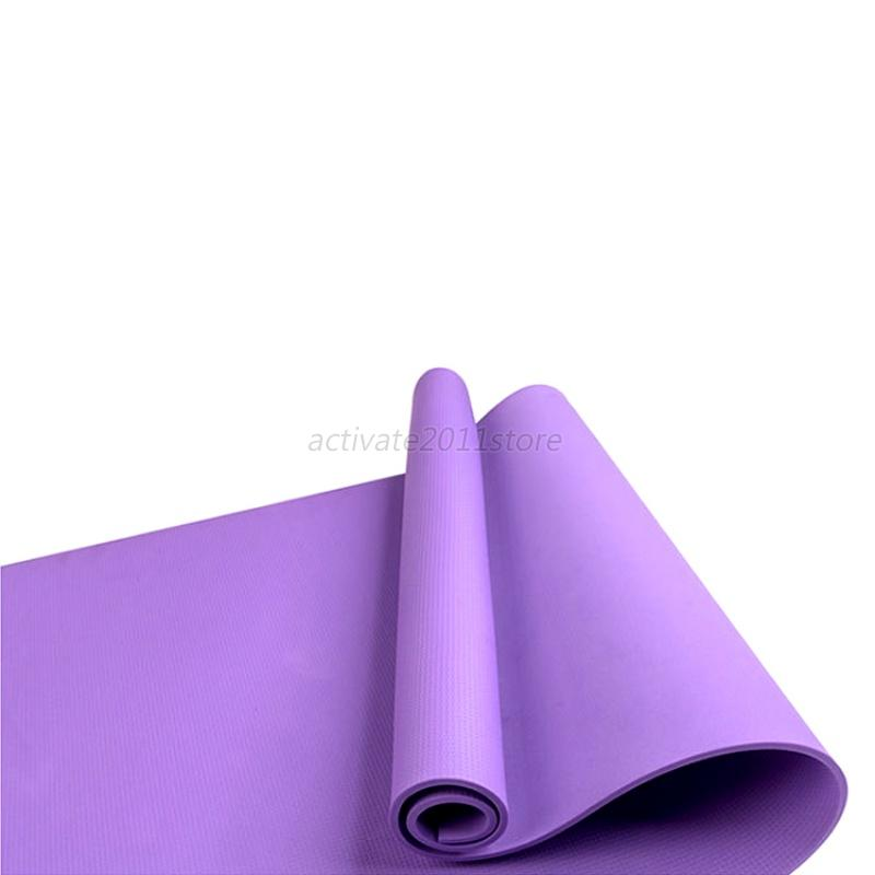Thick Non Slip Yoga Mat Exercise Workout Fitness Physio