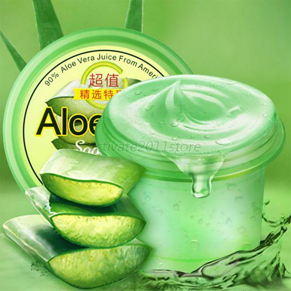 natural aloe vera gel cream soothing gel moisturizer skin sunburn repair ebay. Black Bedroom Furniture Sets. Home Design Ideas