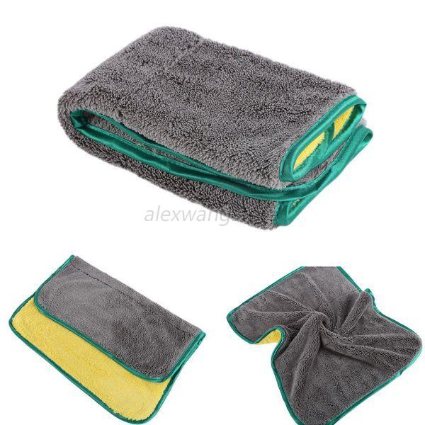 Microfiber Detailing Towels: Absorbent Microfiber Towel Home Cleaning Towel Car