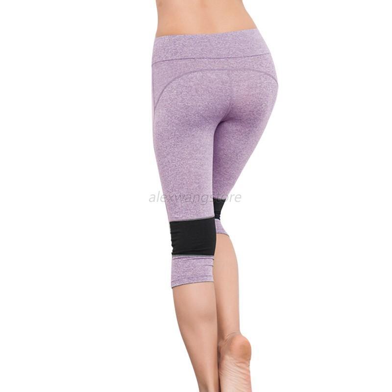 Women's Slim Fitness Yoga Pants High Waist Gym Workout