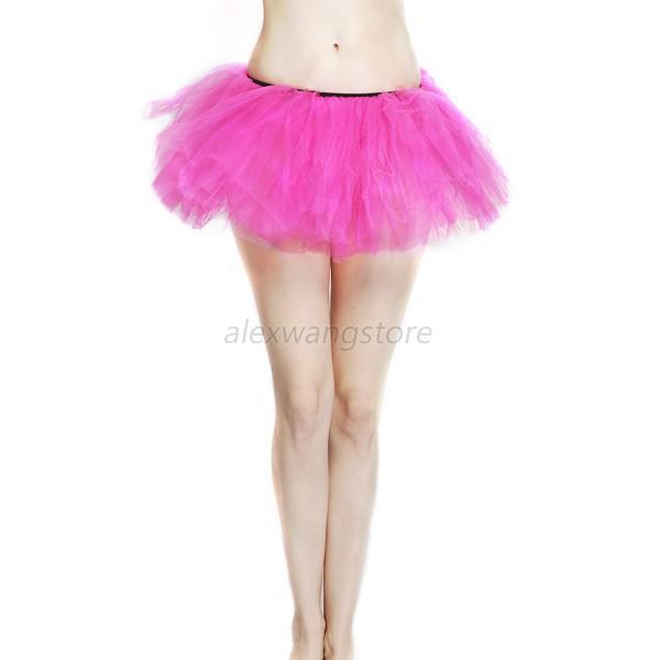 Sexy Women Adult Teen Girls Pettiskirt Ballet Dance Party Fluffy Tutu Skirt A26  Ebay-3228