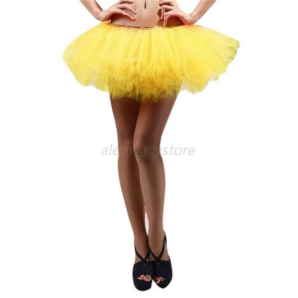Sexy Women Adult Teen Girls Pettiskirt Ballet Dance Party Fluffy Tutu Skirt A26  Ebay-4150