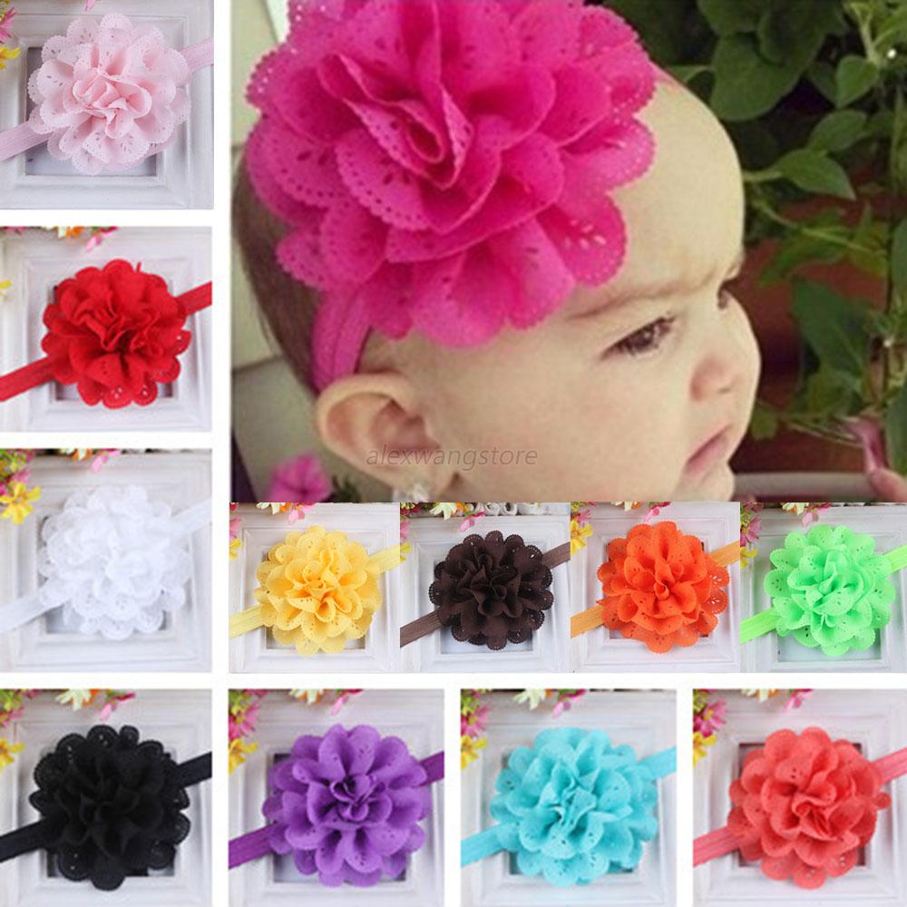Wholesale Toddler Infant Baby Girl Kids Lace Flower