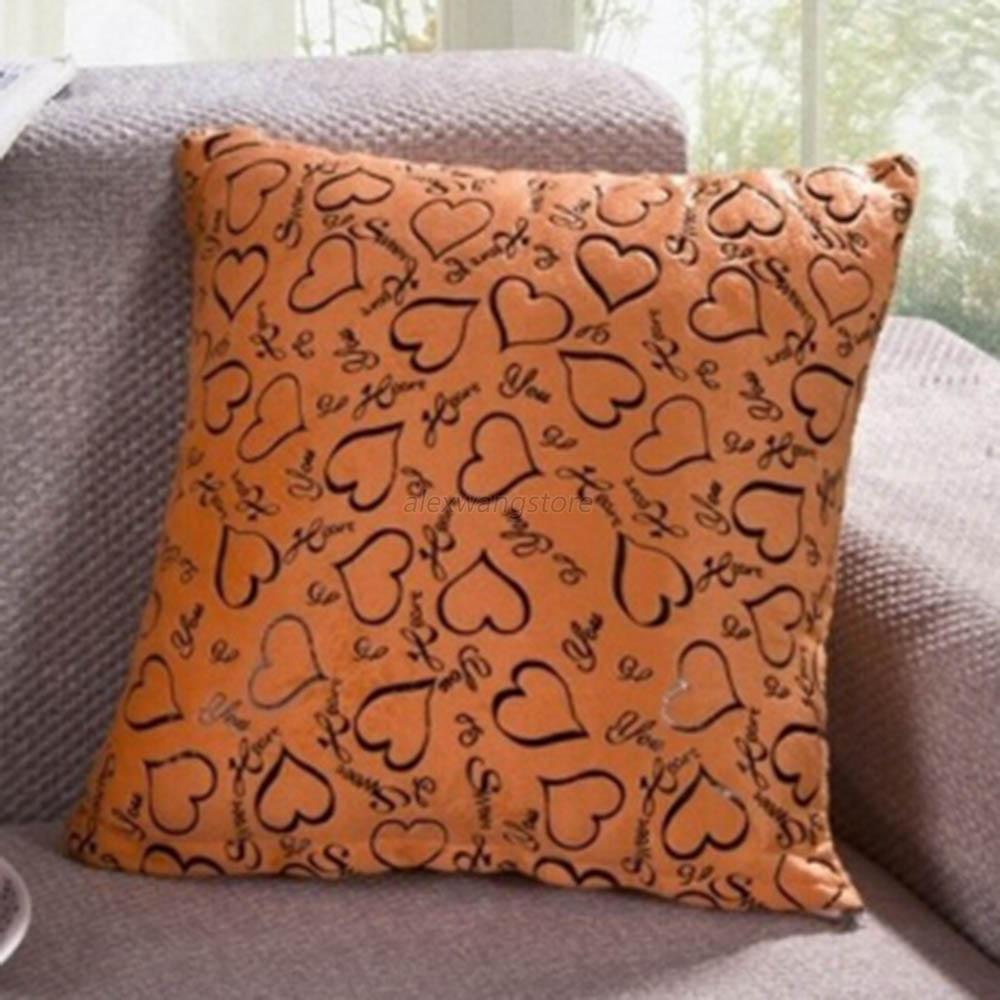 Decorative Throw Pillows For Sofa: Heart Retro Throw Pillow Cases Home Bed Sofa Decorative