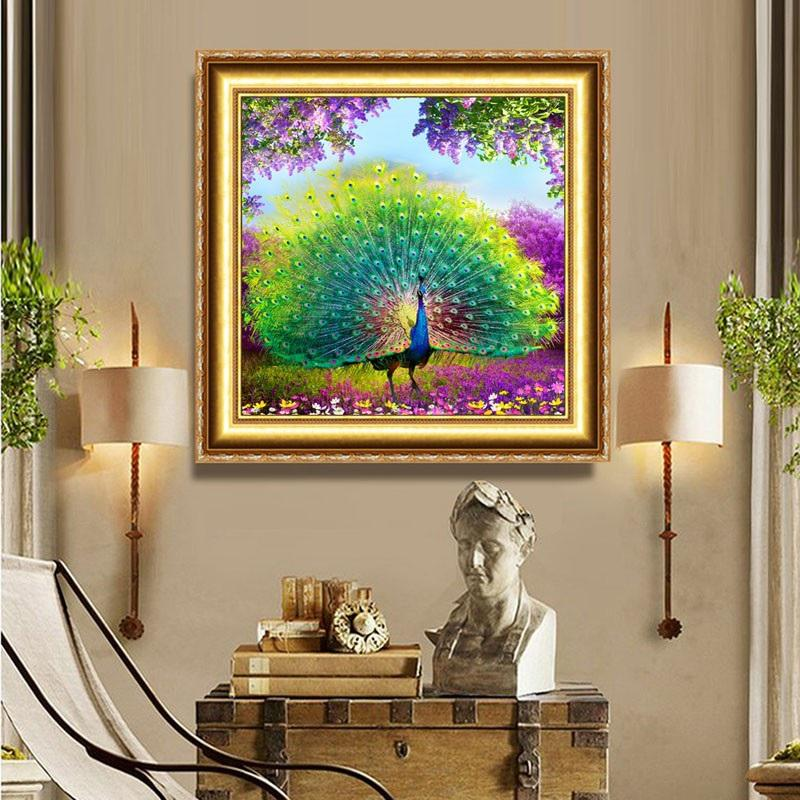 39 styles diy 5d diamond embroidery painting wall sticker for Room decor 5d stickers