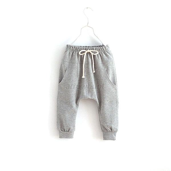 Fashion-Kids-Child-Baby-Casual-Trousers-Jersey-Harem-Pants-Boys-Girls-Clothes