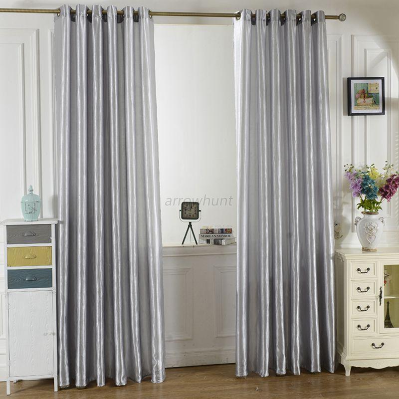 vorhang verdunkelung kr uselband sen schlaufe thermo gardine schal vorh nge ebay. Black Bedroom Furniture Sets. Home Design Ideas