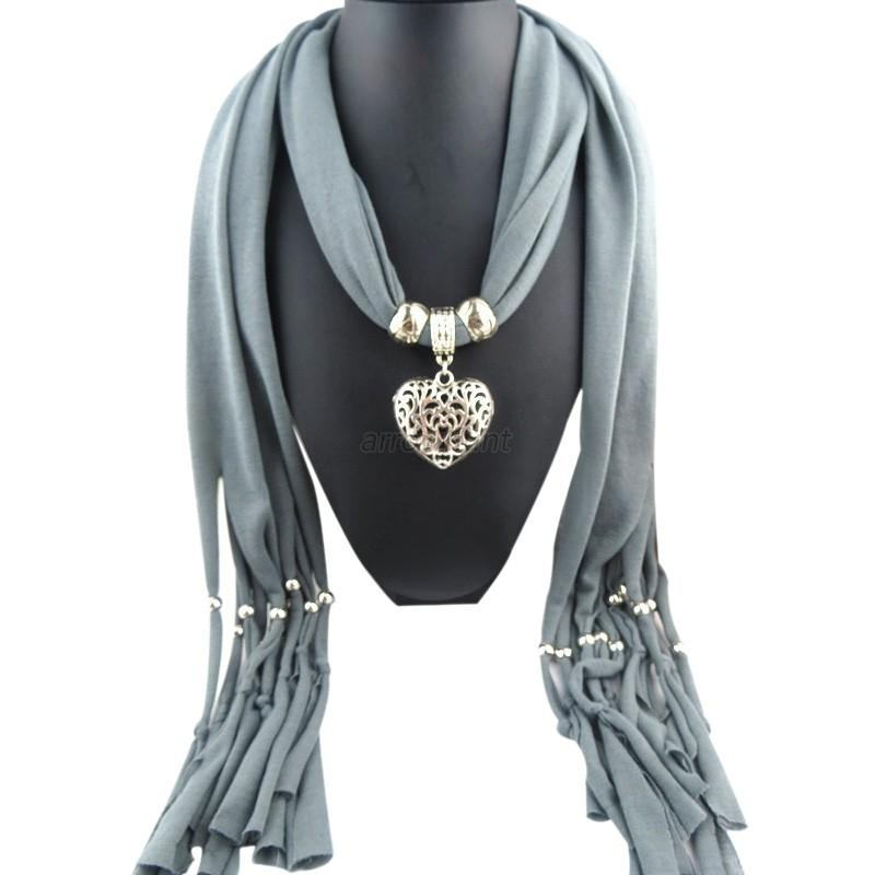 diy necklace jewelry scarf butterfly drop pendant set