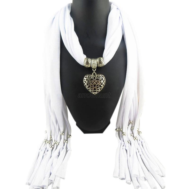 Women charms scarves shawls stole jewelry charm scarf pendant women charms scarves shawls stole jewelry charm scarf aloadofball Gallery