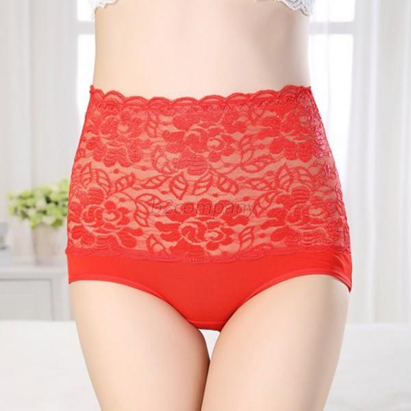 Women-Body-Shaper-Slim-Tummy-Corset-High-Waist-Seamless-Pant-Underwear-Shapewear