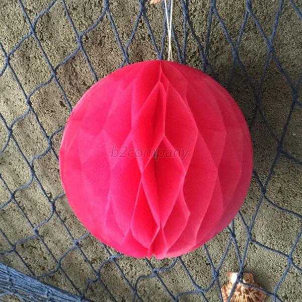 """Paper Balls Decoration: 6"""" Tissue Paper Balls Lanterns Wedding Birthday Baby"""