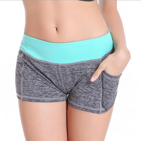 Womens Seamless Stretch Shorts Spandex Workout Basic Plain