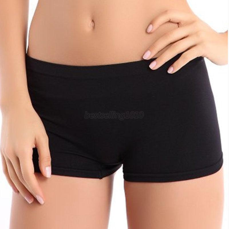 Girl Seamless Club Dance Exercise Activewear Yoga Shorts