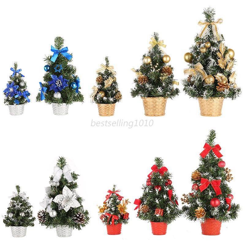 20/30/40cm Mini Christmas Tree Decor Desk Table Festival